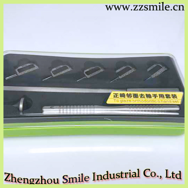 Ensemble de main orthodontique O dentaire pour Giaze/Instruments orthodontiques dentaires à usage manuel