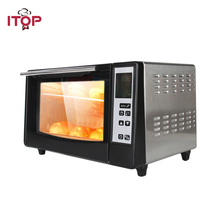ITOP Cucinetta Infrared Pizza Ovens 4 Heating Elements 1300W Genuine New Electric Oven Machine Cooking Tools