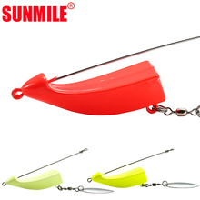 SUNMILE SPEEDBOAT Fishing Jig Head for Soft Lure Saltwater Swim Bait ,Lead Hook 40g 60g 80g 100g 120g 150g Sea