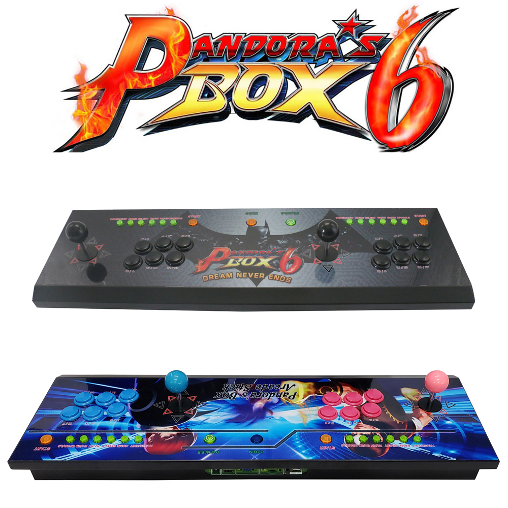 The Family Professional classic design arcade video game consoles with Pandora 39 s Box 6 1300 in 1 multi game board in Coin Operated Games from Sports amp Entertainment