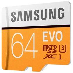 سامسونج مايكرو SD 64GB EVO بطاقة الذاكرة مايكرو SD بطاقات SDXC 64gb C10 TFTrans فلاش ميكرو بطاقة للهاتف المحمول سامسونج غالاكسي s3 s4