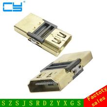 DIY HDTV 4.1 F/F HDMI Female Coupler Extender Adapter To Plug For 1080P Cable Extension Connector Converter