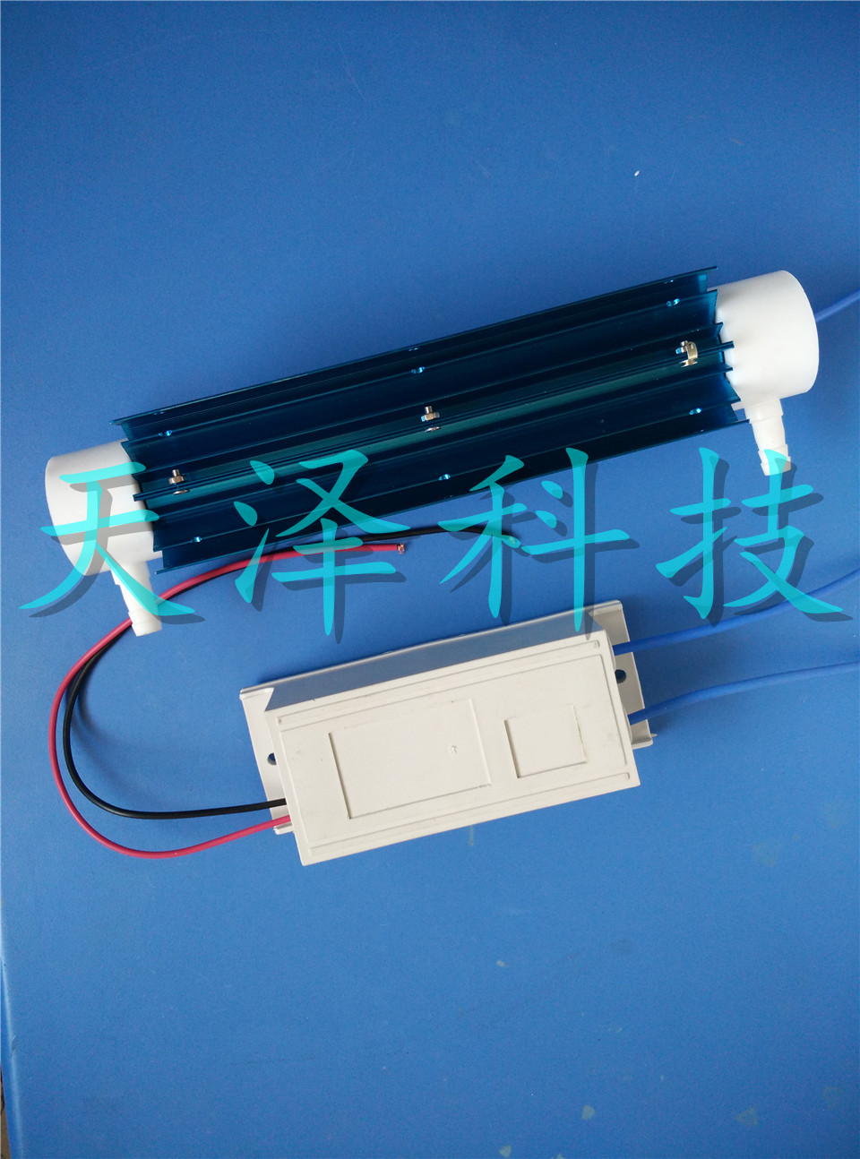 220v10 g g/h quartz tube type ozone generator fixed frequency power supply water treatment air disinfection dual purpose corona discharge household 220v ozone generator fq 301 ozone water treatment 200 300mg h china