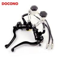 Motorcycle CNC modified direct push brake pump clutch pump For DUCATI 1098 1198 KAWASAKI Z1000 Z800 Z750 YAMAHA MT07 fz8 tmax