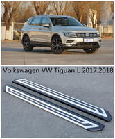 For Volkswagen VW Tiguan L 2017 2018 Car Running Boards Auto Side Step Bar Pedals High