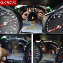CNORICARC Auto cruscotto pannello di protezione dello schermo di copertura decorazione assetto per Mercedes Benz classe C W205 GLC200 260 300 2015- 18