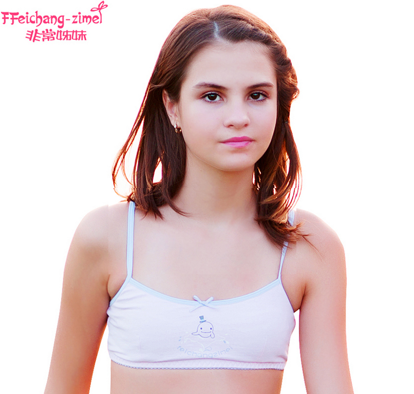 Free shipping Teenage Girl Underwear training bras for 9 to 12 ...