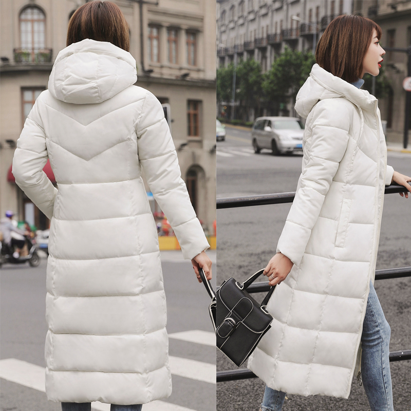 Plus Size 4XL 5XL 6XL womens Winter Jackets Hooded Stand Collar Cotton Padded Female Coat Winter Women Long Parka Warm Thicken 15