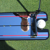 Golf Putting Mirror Alignment Training Aid Swing Trainer Eye Line Golf Training Aids Products Supliers