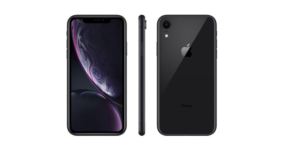 Apple iPhone XR Unlocked 4G LTE Smartphone 6.1 inch Apple A12 Hexa-core 12MP Camera Face ID Bluetooth WiFi 64/128/256GB Phones