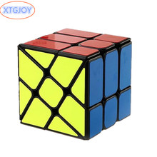 1Pcs Newest Ultra smooth Magic Alien Cubes 57mm Professional Speed Magic Cube Learning Educational Twist Puzzle