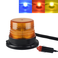 DC 12V Strobe Car Cargo Truck Carrying A Circular Signal Magnetic Ceiling Warning Police Lights One