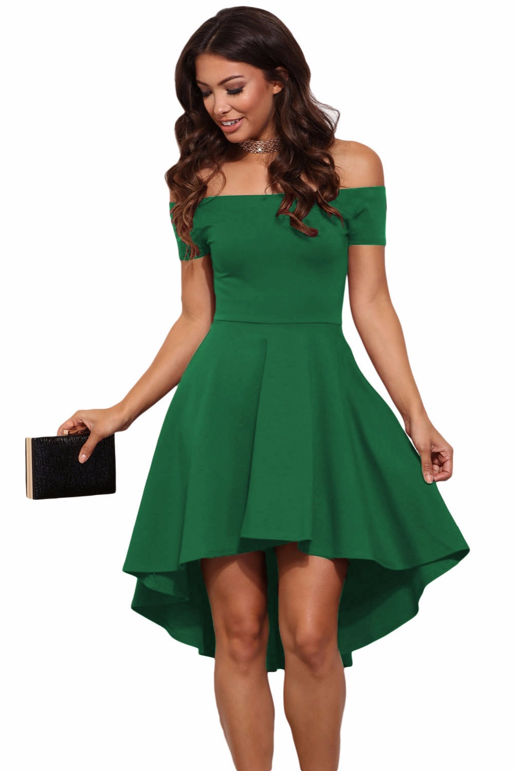 New Buy 2015 New Fashion Women Dress Summer Three Quarters Sleeves Dresses