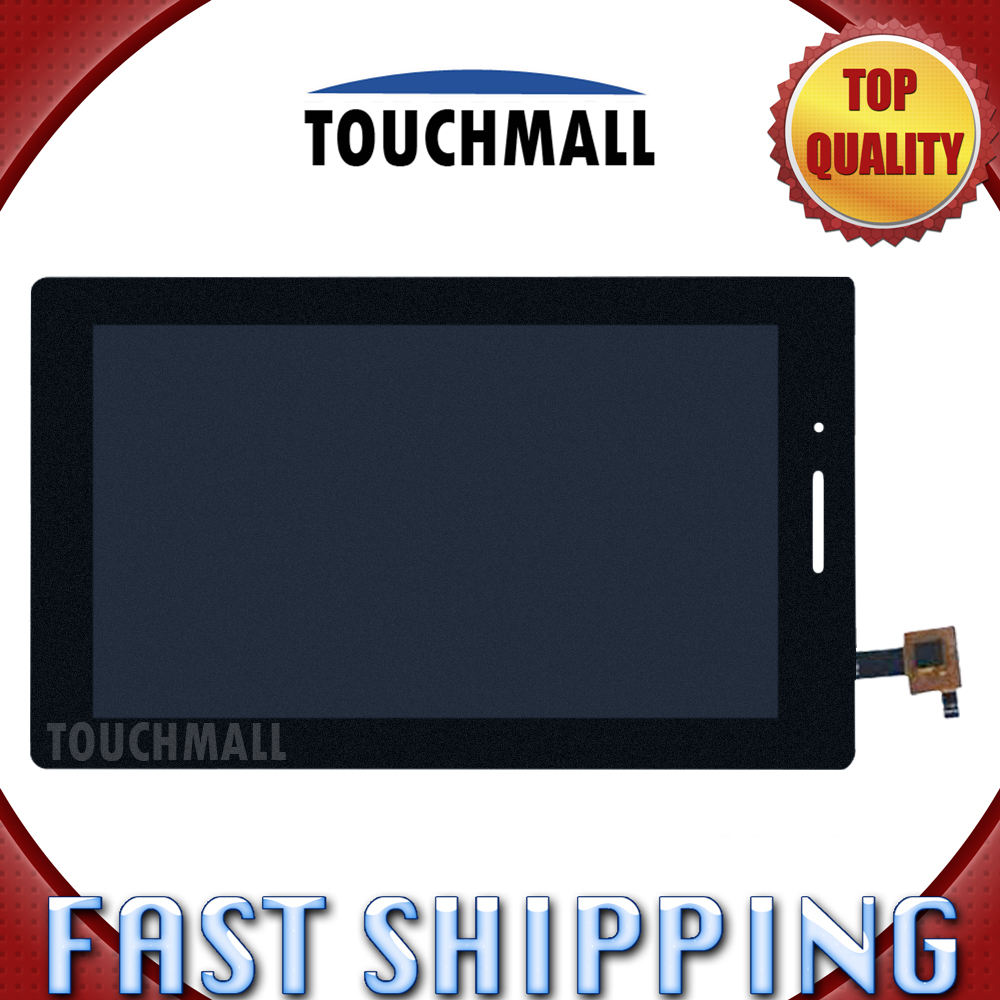 For New LCD Display Touch Screen Digitizer Glass Assembly Replacement Lenovo Tab3-710 Tab3-710F Black Free Shipping 100% brand new ogirianl lcd screen panel display replacement for lenovo s930 touch digitizer free shipping