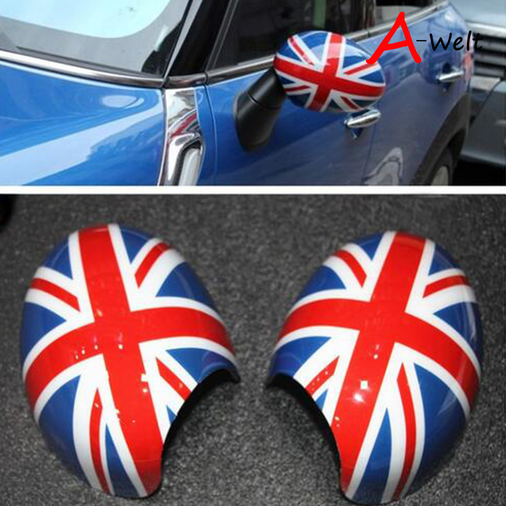For Mini Cooper R55 R56 R57 R58 R59 R60 Rearview Outside Side Mirror Cover Cap Shell