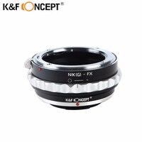 K F Concept Camera Lens Adapter Ring For Nikon G Mount Lens To Fujifilm Fuji FX
