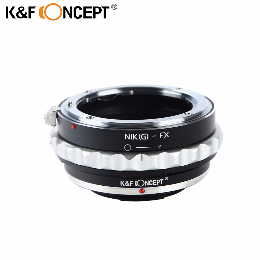 K&F CONCEPT Camera Lens Adapter Ring for Nikon G Mount Lens (to) fit for Fujifilm Fuji FX X-Pro1 X-M1 X-A1 X-E1 Adapter Body