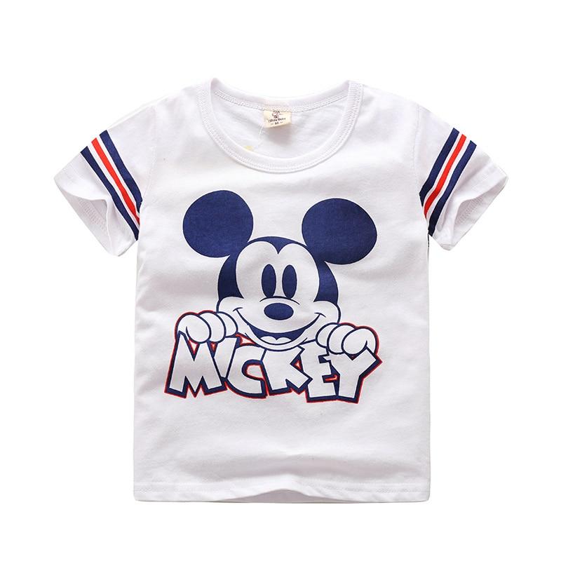 Mickey Mouse Vestiti Abbigliamento T-Shirt Alla Moda per il Ragazzo e Della Ragazza Cute Little Girl T-Shirt a maniche corte Camicia di Abbigliamento Per BambiniMickey Mouse Vestiti Abbigliamento T-Shirt Alla Moda per il Ragazzo e Della Ragazza Cute Little Girl T-Shirt a maniche corte Camicia di Abbigliamento Per Bambini