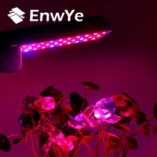 EnwYe مصباح نمو النبات التيار المتناوب 110 فولت 220 فولت 4 واط 6 واط 8 واط E27 الطيف الكامل داخلي LED مصباح النبات للنباتات النباتية نظام استزراع مائي النبات