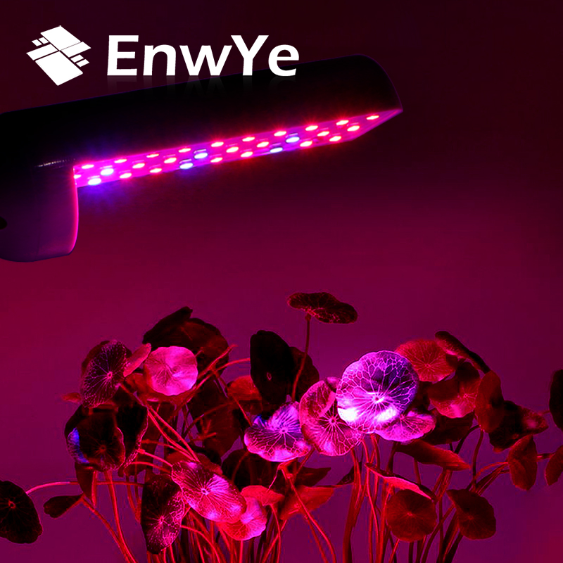 EnwYe Plant Growth Lamp AC 110V 220V 4W 6W 8W  E27 Full Spectrum Indoor LED Plant Lamp For Plants Vegs Hydroponic System Plant