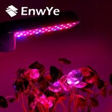 Lámpara de crecimiento de plantas EnwYe, CA 110V 220V 4W 6W 8W E27, lámpara LED de espectro completo para plantas, sistema hidropónico para verduras