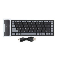 Promotion 1Pcs Wireless Flexiable Bluetooth Silicone Roll Up Keyboard 2425