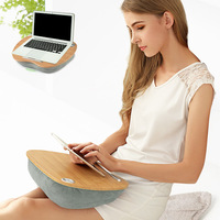 FULCLOUD Three In One Multifunctional Notebook Computer Desk Bed Lapdesks Lazy Computer Table Outdoor And Office