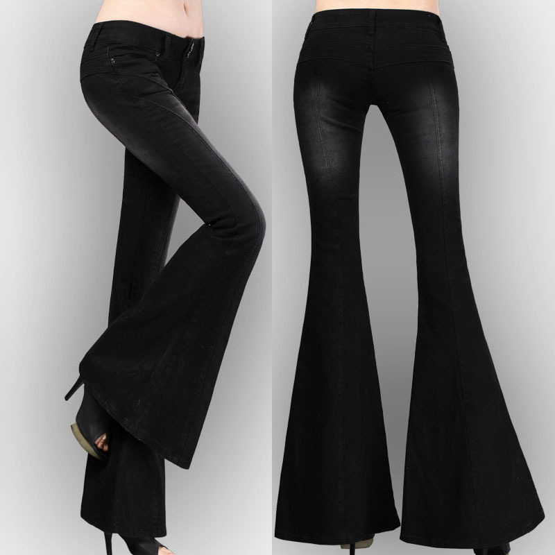 Compare Prices on Black Flare Jeans- Online Shopping/Buy Low Price