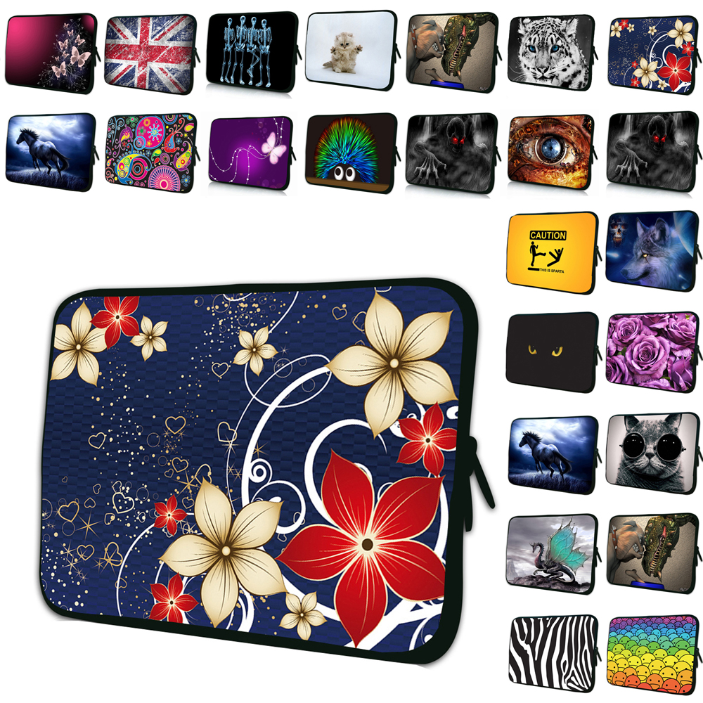Neoprene Print Bag Soft 7 10 12 13 14 15 17 Inch Laptop Sleeve Cover Case Computer Accessories <font><b>Funda</b></font> <font><b>Portatil</b></font> <font><b>15.6</b></font> Bolsas Pouch image