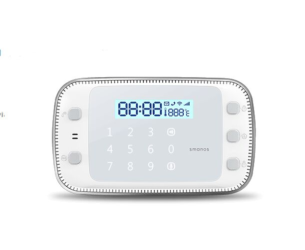 New DIY set Smanos X500 868Mhz GSM SMS RFID Touch font b Alarm b font System