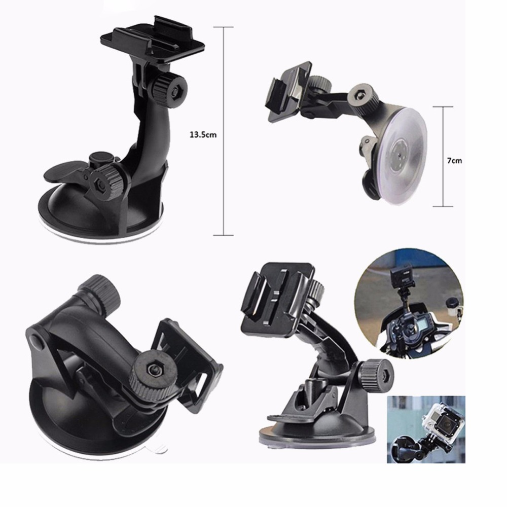 Car Suction Cup for SJCAM Camera for GoPro three Way stick