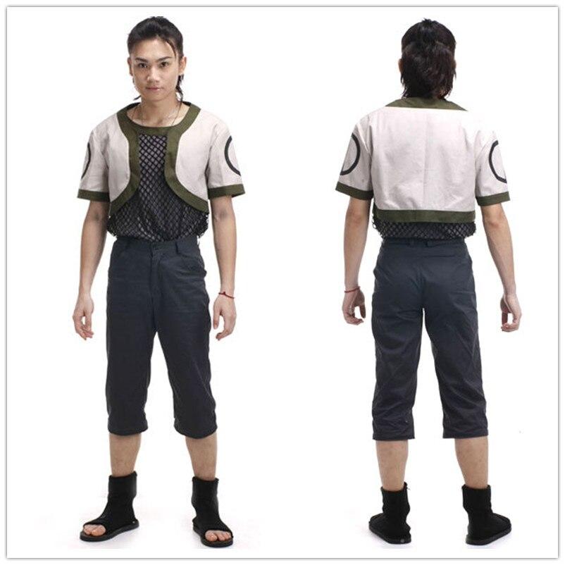 Anime Naruto Cos Nara Shikamaru Halloween Cosplay Man Woman Cosplay Costume Free Shopping coat shirt pants