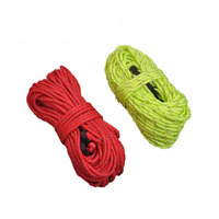 NatureHike 4 PCS Reflective Guyline Tent Ropes Outdoor Camping Cord with Adjusters