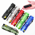 EU LED Flashlight Lanterna de led linternas Torch 2000 lumen Zoomable 3 modes lamp mini flashlight led light lantern bike light
