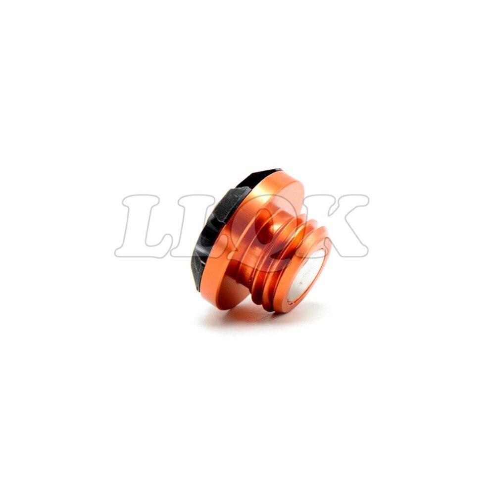 orange color Motorcycle CNC  engine oil filler cap  aluminum For honda shadow 1100 honda shadow750 honda steed 400 honda vfr 800 aluminum alloy oil filler cap for yueda kia hyundai motor honda fiesta silver