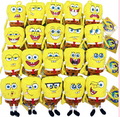 20 expressão nano SpongeBob Patrick pingente boneca de brinquedo de pelúcia presente de aniversário Dos Namorados
