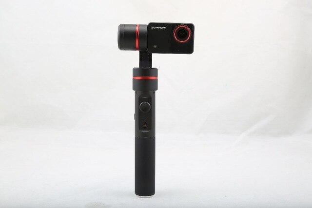 F18166 Feiyu Summon+ 3-Axle Handheld Gimbal Brushless Camera Stabilized with 4K 1080P Camera 16 Mega Pixels 2.0 Inch HD Display yuneec q500 typhoon quadcopter handheld cgo steadygrip gimbal black