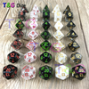 Brand New Multi Sided Dice Mix White Black Color D4 6 8 10 10 12 20