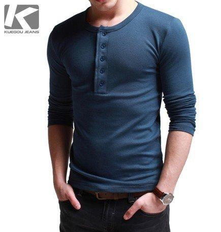 Aliexpress.com : Buy High Quality 2012 Autumn Men's T Shirt Thick ...