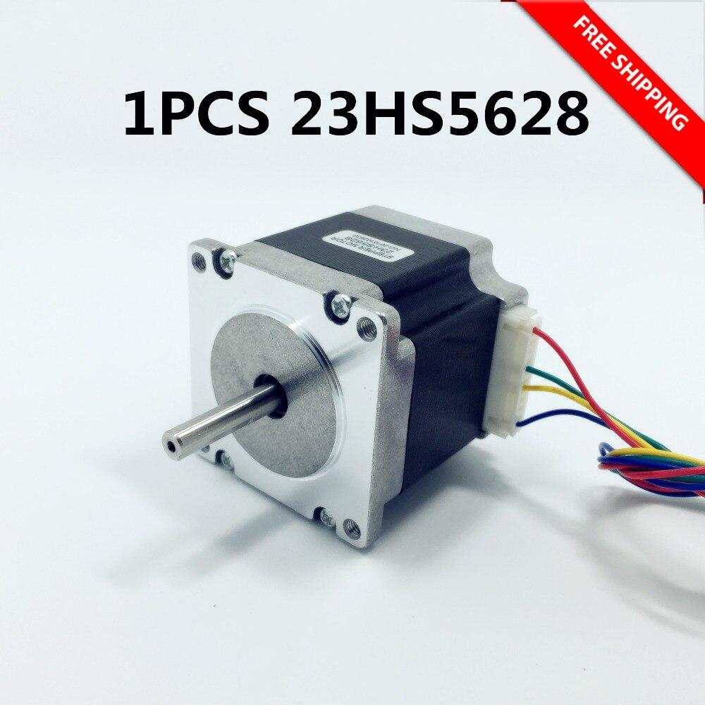Free shipping 23HS5628 4-lead Nema 23 Stepper Motor 57 motor NEMA23 Stepper Motor 2.8A ISO CNC Laser Grind Foam Plasma Cut