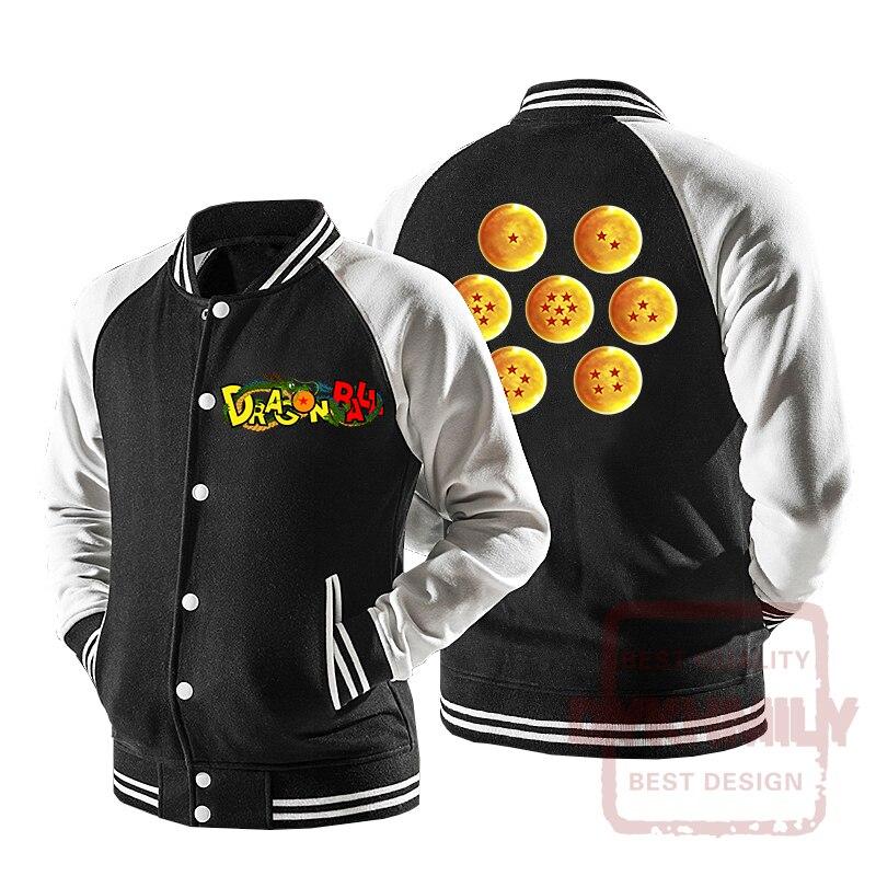 Winter Mens Dragon Ball Hooded Jackets Anime Son Goku Cosplay Windbreaker Coat Japanese Cartoon Dragon Ball Trench D82101 Jackets & Coats