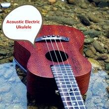 Soprano Concert Tenor Acoustic Electric Ukulele 21 23 26 Inch Mini Guitar Ukelele Guitarra Mahohany Plug-in Uke