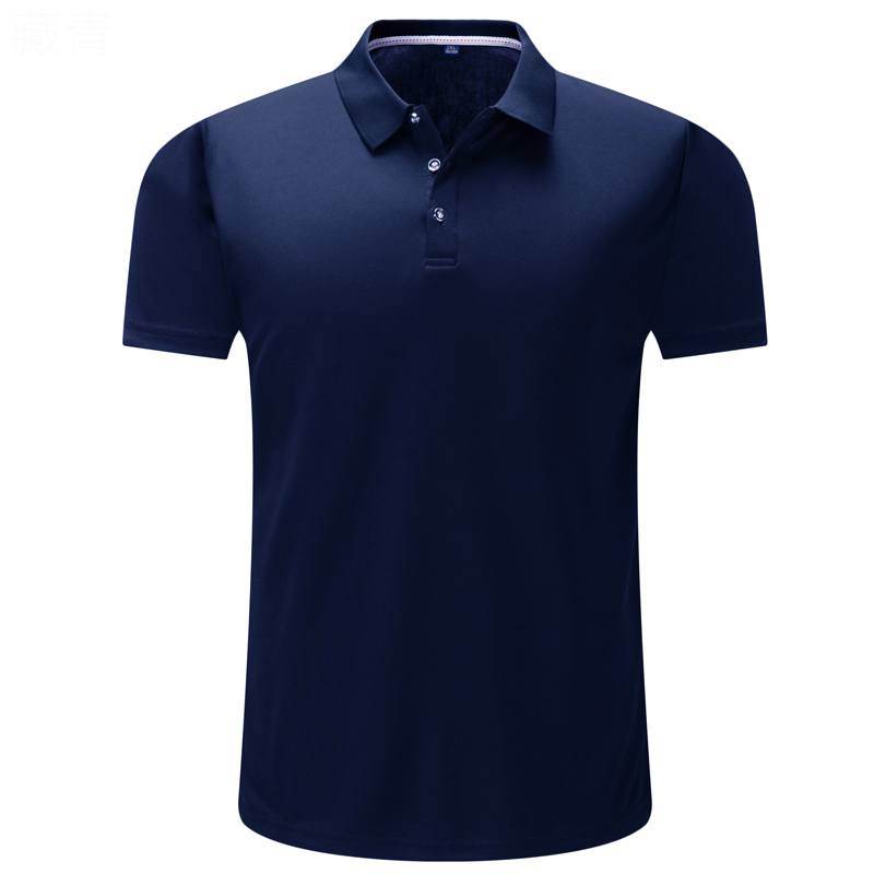 Polos   Para Hombre 2019 High Quality Summer Short Sleeve Cotton Brand Business Sports Jerseys Casual Solid Black Tee Shirt Homme