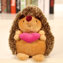 Stuffed Animals Plush Toy 50 30cm Hedgehog couple cute Doll Toys For Children japanese stuffed toys christmas presents