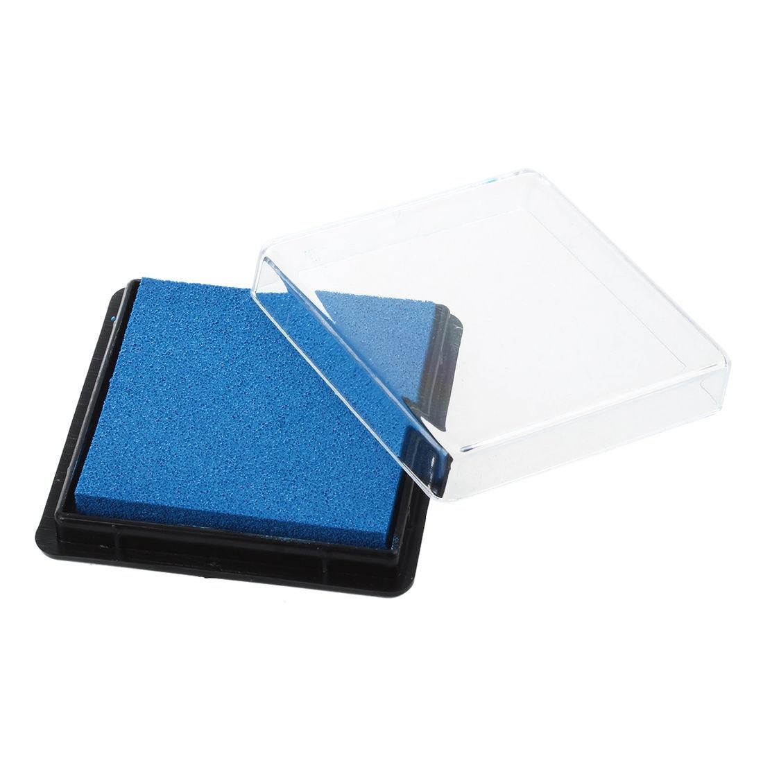 Ink Pad Stamp Pad For Wedding Letter Document Light Blue
