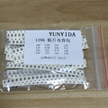 Free shipping 1206 SMD Capacitor assorted kit ,16values*20pcs=320pcs 10PF-22UF Samples kit