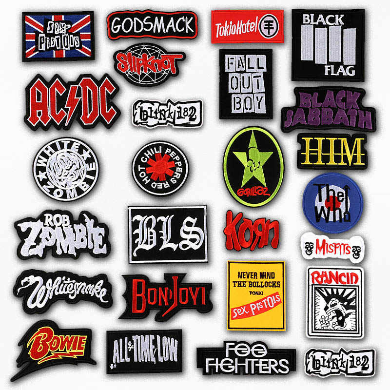 Iron On Patches Embroidered Patch Applique Cute Fabric Badge Garment DIY Apparel Accessories Badges