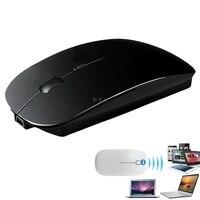 נייד 1600DPI נטענת Bluetooth 3.0 עכבר אלחוטי עבור מחשב נייד מחשב טבליות
