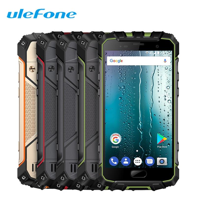 "Ulefone Armor 2S IP68 Smartphone 5.0""FHD Quad Core Android 7.0 2GB+16GB 13.0MP NFC OTG 4700mAh Global 4G Waterproof Rugged Phone"