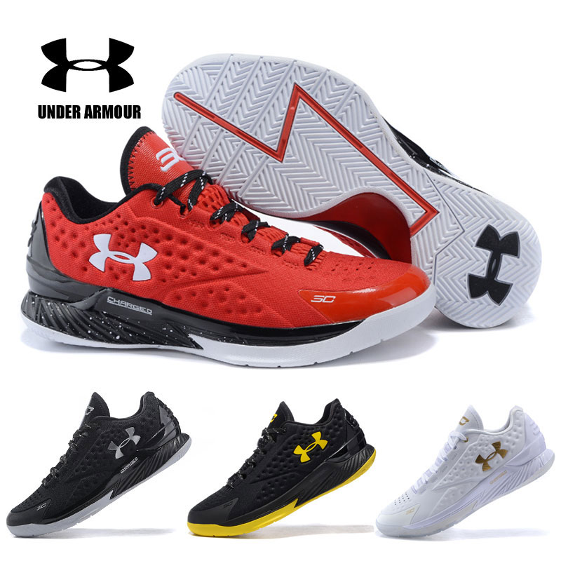 Hot Men/'s Under Armour Curry 1 TRAINING Basketball Shoes Boots high top